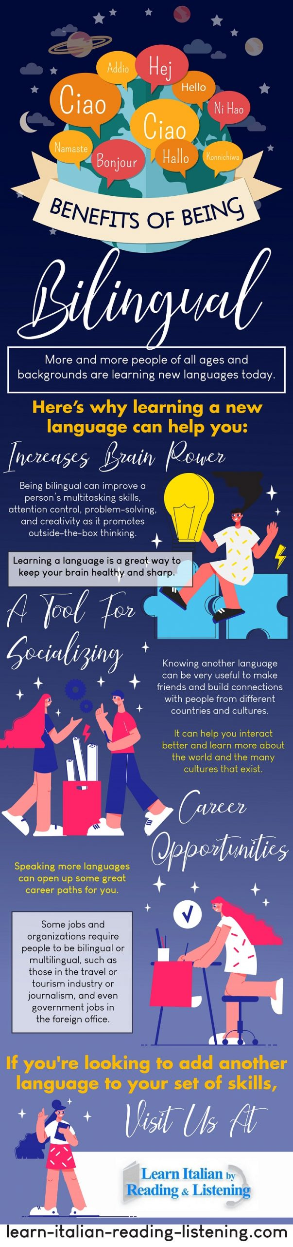 Benefits Of Being Bilingual