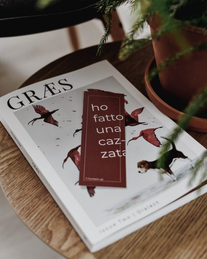 """A GRÆS Magazine Issue Titled """"I Effed Up"""" in Lowercase"""